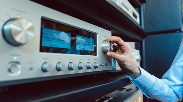 Stereoanlage sorgt für gute Musik