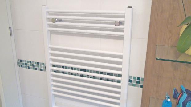 Handtuchhalter im Badezimmer