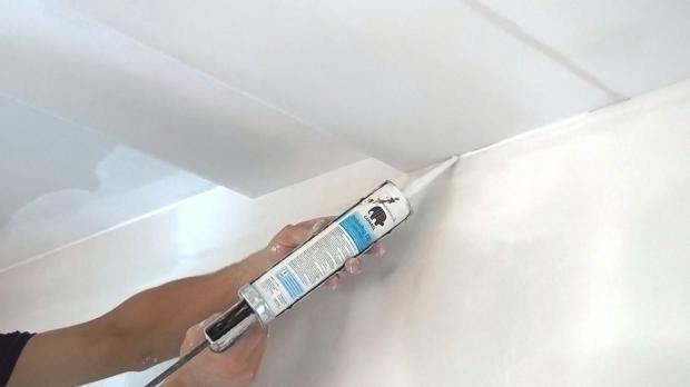alle decken und wandbergnge werden mit acryl verschlossen - Erst Decke Oder Wande Streichen
