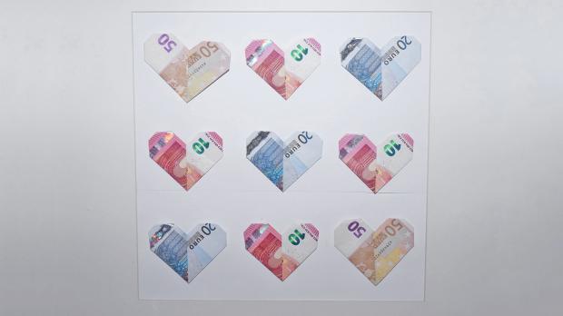 Kreatives Geldgeschenk