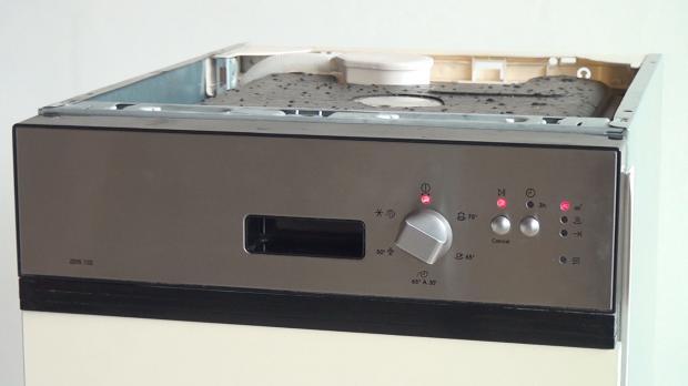 Elektronik des Geschirrspülers testen