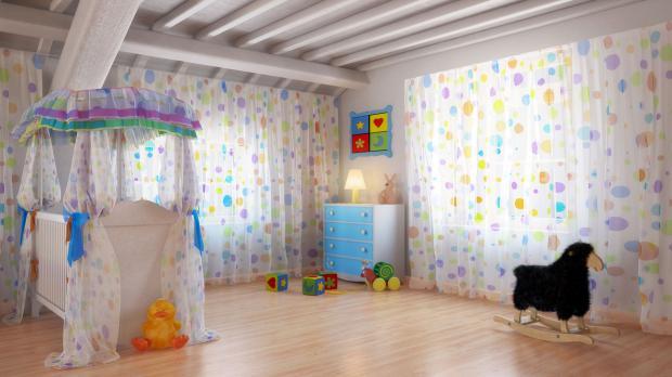 Gefahrfreies Kinderzimmer