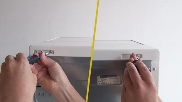 Gerätedeckel entfernen