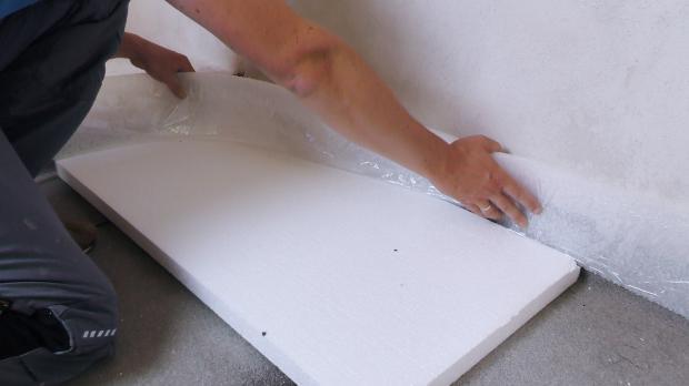 Dämmung Fußboden Stärke ~ Estrichdämmung verlegen anleitung diybook at