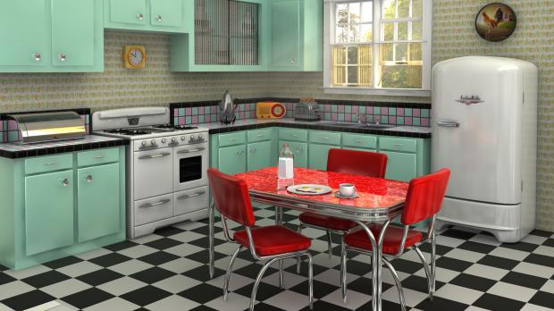 Vintage In Der Küche