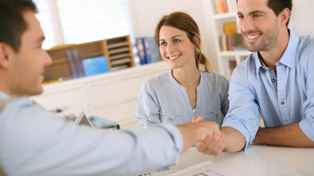 Ehrliches Gespräch mit der Bank für Anschlussfinanzierung