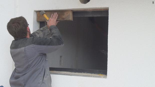 Fenster ausbauen