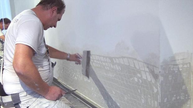 Bekannte glatte w nde spachteln cr17 kyushucon - Wand spachteln und streichen ...