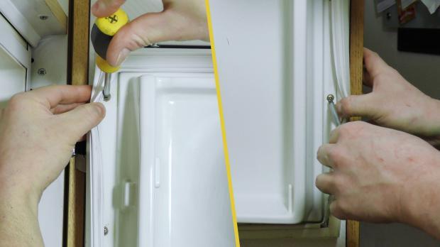 Aeg Kühlschrank Türanschlag Wechseln : Aeg spülmaschine türdichtung wechseln siemens geschirrspüler