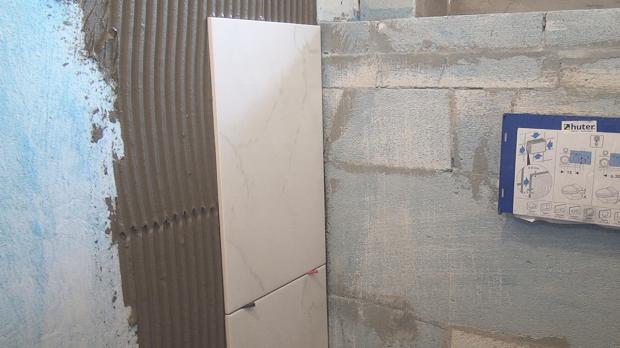 Fliesen An Der Wand Verlegen Wohndesign - Fliesen an der wand legen