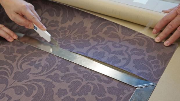 innenecken tapezieren anleitung tipps vom maler. Black Bedroom Furniture Sets. Home Design Ideas