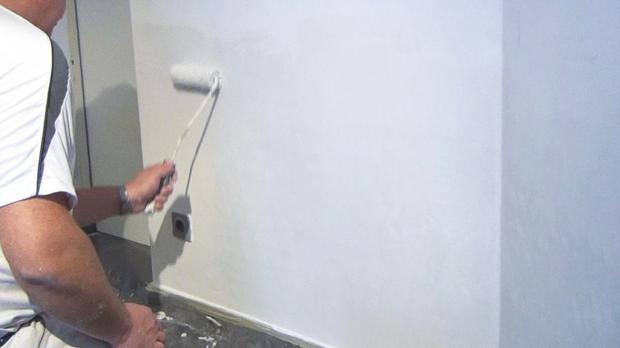 spachteln und streichen nach einem wasserschaden anleitung und tipps. Black Bedroom Furniture Sets. Home Design Ideas