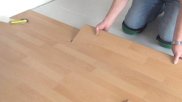 Fußboden Laminat Verlegen ~ Laminat verlegen anleitung zur schwimmenden verlegung diybook at