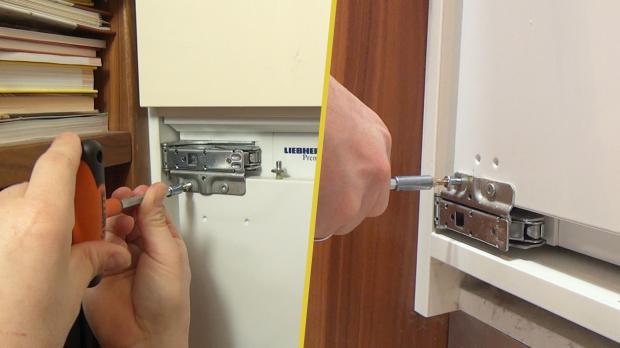 Siemens Kühlschrank Scharnier Wechseln : Liebherr kühlschrank: scharnier wechseln anleitung @ diybook.at