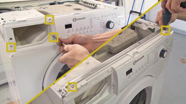 bauknecht waschmaschine pumpt nicht ab pumpe wechseln. Black Bedroom Furniture Sets. Home Design Ideas