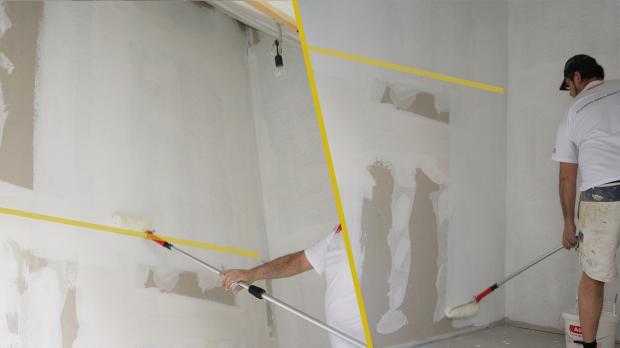 zimmer streichen dauer hohlrume stupfen damit keine farbe. Black Bedroom Furniture Sets. Home Design Ideas