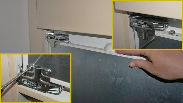 Kühlschrank Befestigung Tür : Gefrierschrank tür reparieren gefrierschrank scharniere tauschen