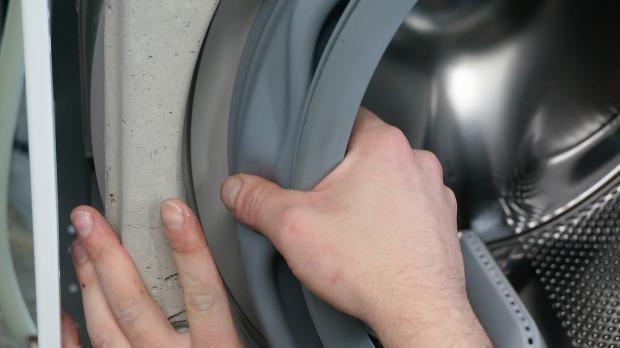 Aeg Waschmaschine Lauft Aus Turmanschette Wechseln Reparatur