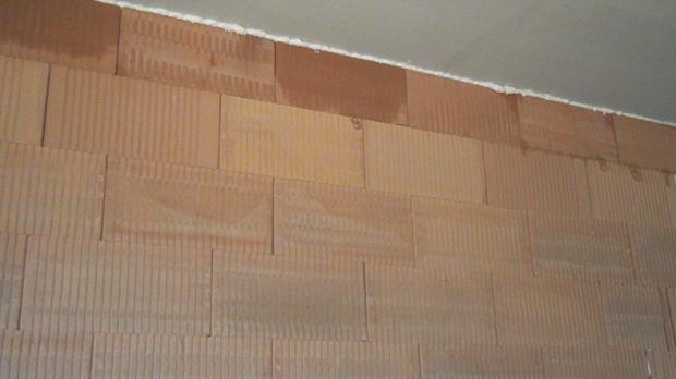 Ergebnis des Projekts - Trennwand bauen