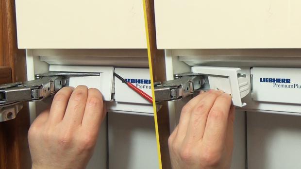 Kühlschrank Scharnier : Liebherr kühlschrank scharnier wechseln anleitung diybook at