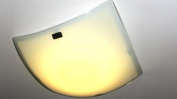 Angeschlossene LED Lampe