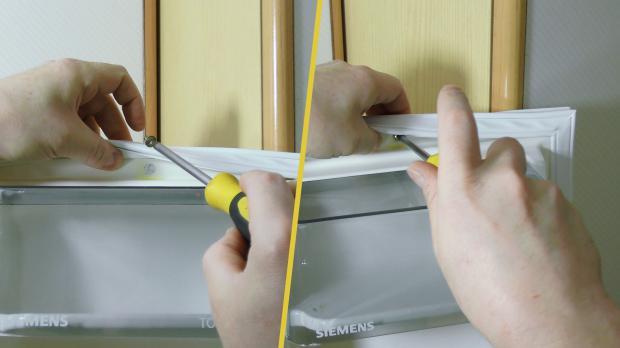 Kühlschrank Türdichtung : Kühlschrankdichtung wechseln türdichtung anleitung @ diybook.at