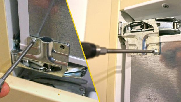 Amica Kühlschrank Türanschlag Wechseln : Kühlschrank scharnier wechseln anleitung diybook at
