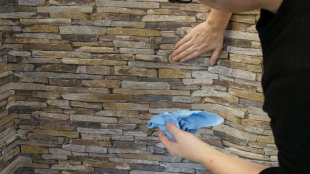 18 vinyltapete tapezieren zuviel kleister sofort entfernen und abwaschen - Tapete Kleben Ohne Kleister