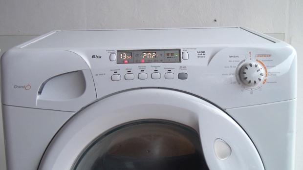 Reparierte Waschmaschine