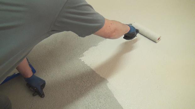 Betonboden Streichen Farbe beton selbst versiegeln anleitung tipps diybook at