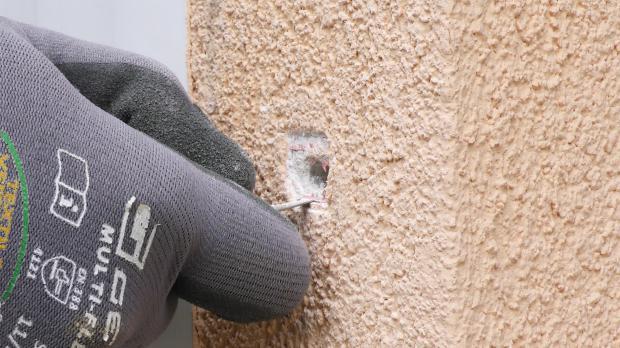 Fassadennetz ausschneiden