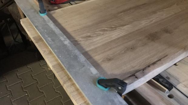 Tischkante ablängen