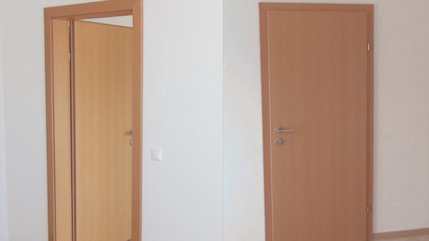 Tür einbauen  Tür einbauen, Türzarge einbauen - Anleitung @ diybook.at