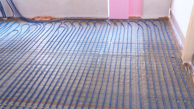 Fußbodenheizung Legen ~ Fußbodenheizung verlegen anleitung @ diybook.at