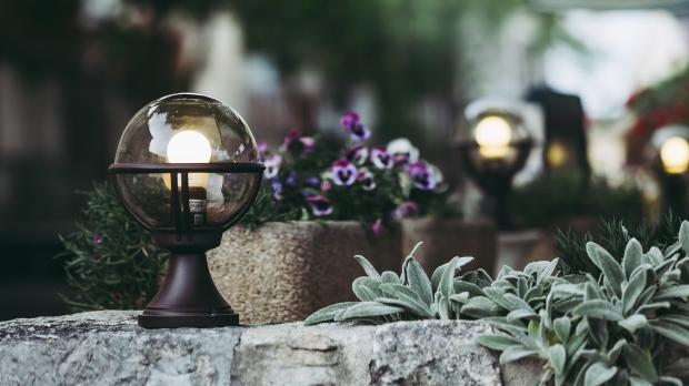 gartengestaltung mit lampen