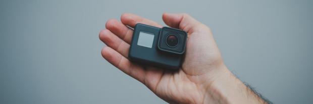 GoPro Kamera für Erlebnisaufnahmen