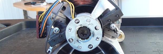Motor der Gorenje Waschmaschine