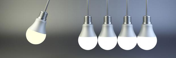 LED-Lampen nehmen Anlauf