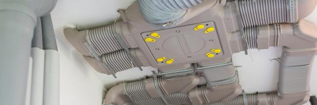 Favorit Lüftungsanlagen zum Nachrüsten – Zentrale oder dezentrale Lösungen GJ26