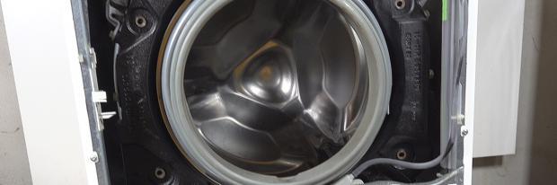 Miele Waschmaschine mit offener Front
