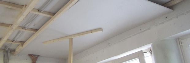 Decke abhängen - Trockenbau