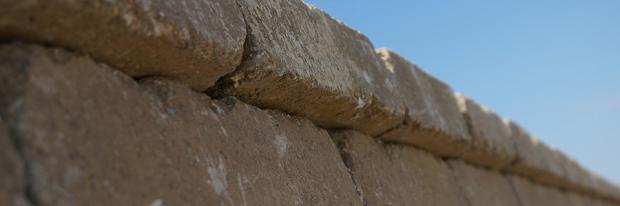 Gartenmauerabschluss - Geartenmauerabschluss im Detail