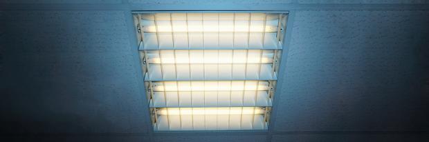 Kaltes Licht eine Neonröhre