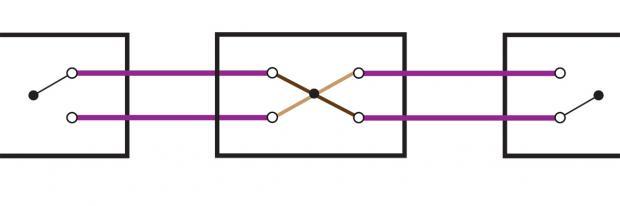 Die Kreuzschaltung: Schaltplan und Funktion - Ratgeber @ diybook.at
