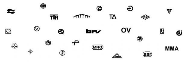Symbole und Logos der meisten Heizkörperventilhersteller