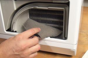 Miele Trockner – Luftkanal reinigen