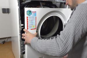 Miele Waschmaschine - Front zerlegen