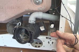 Bauknecht-Waschmaschine pumpt nicht ab: Pumpe wechseln