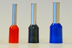 Die Farben von Aderendhülsen