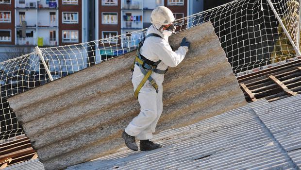 asbest gefahr gebannt in bauen sicherheit. Black Bedroom Furniture Sets. Home Design Ideas
